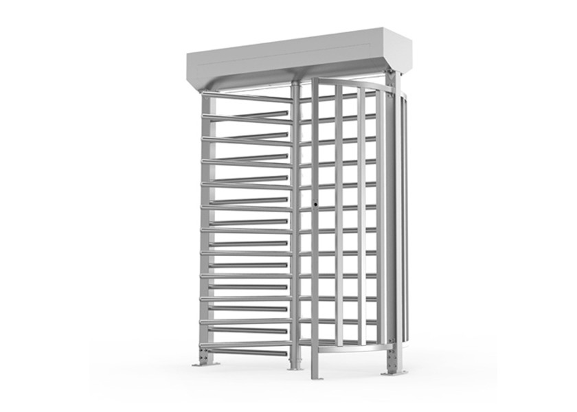 Heavy Duty Full Height Turnstile Fail Secure Prison Main Gate Automatic Security Revolving
